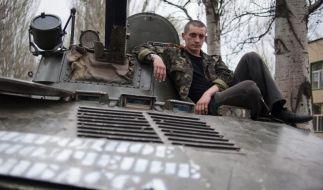 Tote bei Kämpfen in der Ostukraine (Foto)