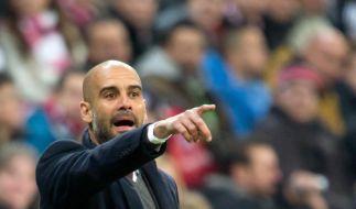Guardiola vor Real-Duell: «Müssen uns verbessern» (Foto)