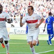 VfB mit «Big Point» im Abstiegskampf: 3:1 gegen Schalke (Foto)
