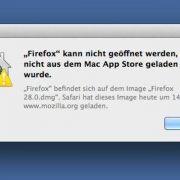 Firefox in Mac OS X installieren (Foto)