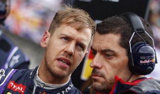 Eis gegen Ärger: Team-Duell zehrt an Vettels Nerven (Foto)