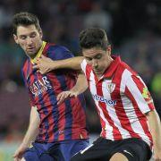 FCBarcelona erhält sich letzte Titelchance (Foto)