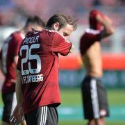 1. FC Nürnberghofft auf die «letzte Rille» (Foto)