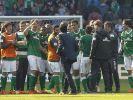 Werder feiert Wolf und Nicht-Abstiegsparty (Foto)