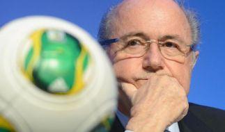 Blatter: Europäische Firmen in Katar verantwortlich (Foto)