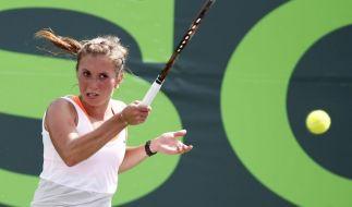 Beck und Barthel bei Stuttgarter WTA-Turnier (Foto)