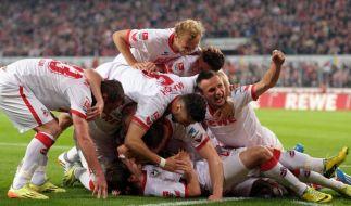 Köln feiert Rückkehr in die Bundesliga - 3:1 gegen VfL (Foto)