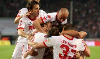 Köln in Feierlaune - FC nach 3:1 wieder erstklassig (Foto)