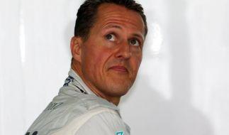 Vor seinem Skiunfall soll Michael Schumacher einen Biker angefahren haben. (Foto)