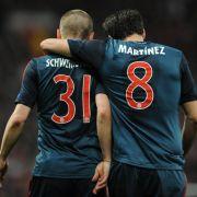 Martínez und Schweinsteiger zurück (Foto)
