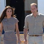 William und Kate werden mit Tier-Kot beschenkt (Foto)