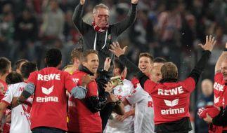 Köln im Glückstaumel: In der Bundesliga «stabilisieren» (Foto)