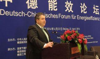 Affront bei Gabriel-Besuch in China (Foto)