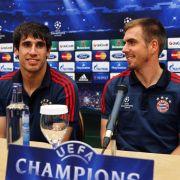 Halbfinal-Duell für Bayern in Madrid - Lahm will siegen (Foto)