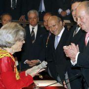 Mexikanerin Poniatowska nimmt Cervantes-Preis entgegen (Foto)