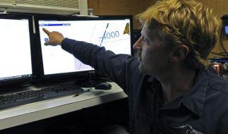 Suche nach Flug MH370: Von der Boeing mit 239 Menschen an Bord fehlt seit dem 8. März jede Spur. (Foto)
