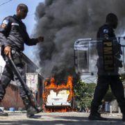 Krawalle in Rio de Janeiro dämpfen WM-Vorfreude (Foto)