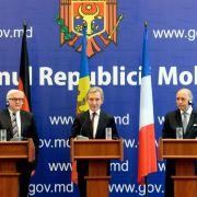 Deutschland und Frankreich versprechen Moldau Annäherung an EU (Foto)