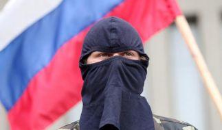 Säbelrasseln im Ukraine-Konflikt zwischen Moskau und Washington (Foto)