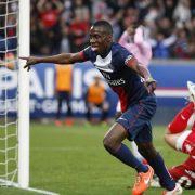 Paris St.Germain vor Meistertitel:1:0 gegenEvian (Foto)
