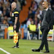 Erste Bernabeu-Niederlage für Guardiola (Foto)