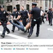 Aufruf der New Yorker Polizei endet in Katastrophe (Foto)