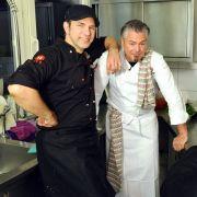 Gerardo spielt Koch: Wenden die Kochprofis seine Pleite ab? (Foto)