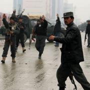Polizist in Kabul erschießt drei US-Ärzte in Klinik (Foto)