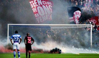 Ajax Amsterdam drei Jahre ohne Fans nach Rotterdam (Foto)
