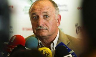 Scolari benennt vier Anführer für Brasiliens WM-Team (Foto)