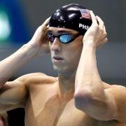 Phelps Vorlaufschnellster über 100 Meter Schmetterling (Foto)
