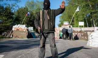 Tote bei Militäreinsatz in der Ukraine (Foto)