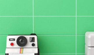 Der Polaroll Toilettenpapierhalter verwandelt jedes Badezimmer in ein Fotostudio. (Foto)