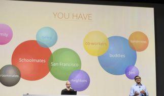 Chef von Googles Online-Netzwerk geht (Foto)