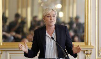 Umfrage zur Europawahl: FN liegt in Frankreich weiter vorn (Foto)