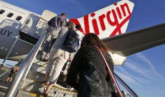Weil ein 26-jähriger Mann randalierte, musste eine Passagiermaschine von Virgin America notlanden. (Foto)