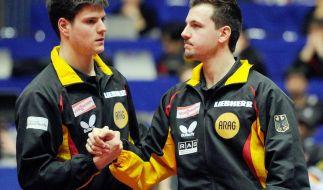 Ovtcharov Leader bei Tischtennis-WM: Finale gegen China (Foto)