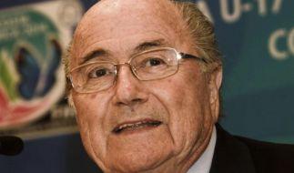 FIFA-Präsident Blatter erneut für 6+5-Regel (Foto)