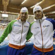 Mulder-Zwillinge künftig im selben Eisschnelllauf-Team (Foto)