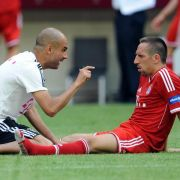 Werder als Warmup - Guardiola: «Ribéry unterstützen» (Foto)