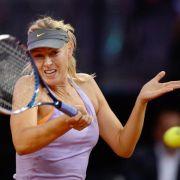 Scharapowa in Stuttgart im Halbfinale gegen Errani (Foto)