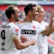 Fortuna-Coach Reck weiter erfolgreich - 4:0 gegen Aue (Foto)