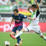 Freiburg kommt Klassenerhalt näher:2:2 in Wolfsburg (Foto)