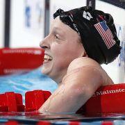 Ledecky mit drei Titeln erfolgreichste Schwimmerin (Foto)