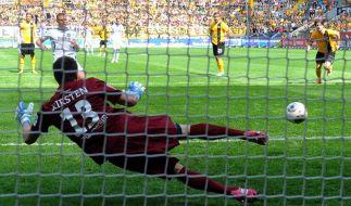 2:2 - Karlsruhe hat nur noch Chance auf Relegationsplatz (Foto)