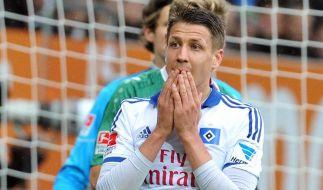 HSV versagt auch beim 1:3 in Augsburg (Foto)