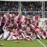 Ajax Amsterdam zum 33. Mal niederländischer Meister (Foto)