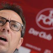 Baders entscheidende Wochen - FCN-Sportchef muss bangen (Foto)