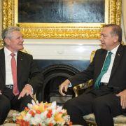 Gauck kritisiert türkische Führung - «Gefährdung der Demokratie» (Foto)