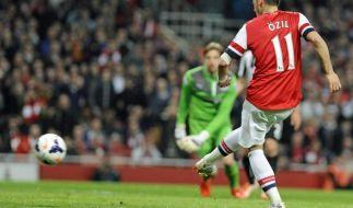 Arsenal festigt mit Sieg über Newcastle Platz vier (Foto)